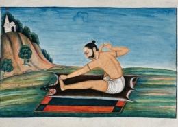 yoga painting